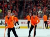 Hockey Fans Boo All-male Ice Crew