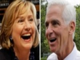 Hillary Clinton's Support For Charlie Crist Raises Eyebrows