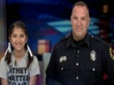 Honoring Our Heroes: Texas Girl Thanks Cops Nationwide