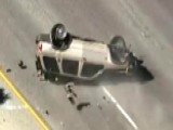 High-speed Police Chase Ends In Rollover Crash