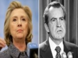 Hillary Clinton Drawing Comparisons To Nixon: Fair?