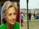 Hillary Clinton Arrives In Iowa: Fawning Media Go Wild