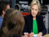 Hillary Clinton Begins Second Presidential Campaign In Iowa