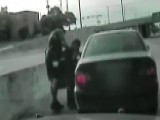 Hero Cop's Heimlich Maneuver Saves Choking Driver On Highway