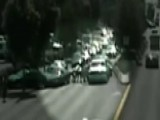 Highway Mayhem: DUI Suspect Tackled After Plowing Into Cars