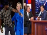 Hillary Dances On Ellen Jeb Chats With Colbert