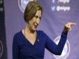 How Carly Fiorina Is Handling Increased Attention