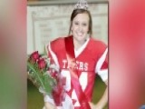 Homecoming Queen Kicks Field Goal For Dad