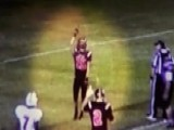 High School Football Player Ejected For Praising God