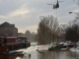 Heavy Rains Causing Devastating Floods In Northern England