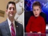 House Speaker Ryan Invites 4-year-old Boy To SOTU Address