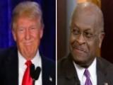 Herman Cain Talks The 'Donald Trump Effect'