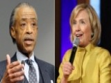 Hillary Clinton Meets With Al Sharpton