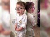 Holy Scapegoat, Batman! Cheeky Toddler Blames Who For Mess?