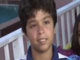 Hero 11-year-old Saves Teen Drowning In Pool