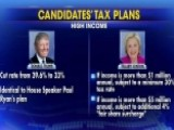 How Do Trump And Clinton Differ On Tax Policy?