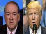 Huckabee To Trump: Leave The Press Attacks To The Surrogates
