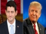 House Speaker Paul Ryan On Relationship With Trump