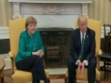 Handshake Missing From Trump-Merkel Photo Op?