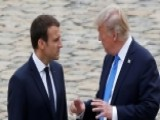 How Trump, Macron Policies Compare On Key Global Issues