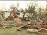 Harvey Comes Ashore Again In Texas, Pounds Port Arthur Area