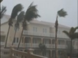 High Winds Bend Palm Trees As Irma Nears St. Kitts And Nevis