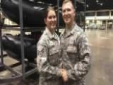 Hurricane Irma Changes National Guard Couples' Wedding Plans