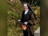 Hurricane Irma: Chainsaw-wielding Nun Helps Clean-up Effort
