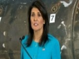 Haley: Iran Cannot Be Allowed To Continue Aggressive Actions