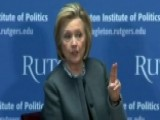 Hillary Clinton: Republican Party Is Being 'held Captive'