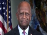 Herman Cain On Trump's Feud With Amazon, Stock Selloffs