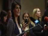 Haley On Syria: At Some Point, You Must Say 'enough'