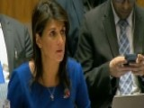 Haley On Syria Strike: We Gave Diplomacy Chance After Chance