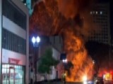 High-rise Collapses After Fire In Sao Paulo, Brazil