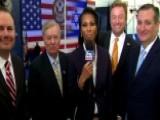 Harris Faulkner Interviews GOP Senators In Jerusalem