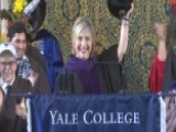 Hillary Clinton Brings Russian Hat With Her To Yale