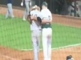 High School Pitcher Consoles Friend After Striking Him Out