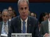 Horowitz Reviewing If Strzok's Bias Affected Russia Probe