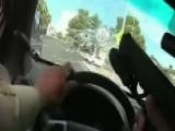 High-speed Police Shootout Caught On Dashcam In Las Vegas