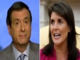 Haley Resignation Triggers Howard Kurtz's 'Spidey-sense'