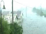 Hurricane Michael's Storm Surge Swamps Apalachicola