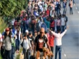 Hundreds Of Hondurans Head To The U.S. Border