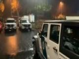 Heavy Rains Slam California Causing Flash Floods, Mud Slides