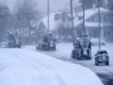 Heavy Winter Storm Pounds Virginia And The Carolinas