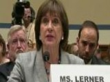 IRS' Lois Lerner: 'I Have Not Done Anything Wrong'