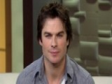 Ian Somerhalder Talks 'The Vampire Diaries'