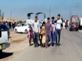 Iraqis Fleeing ISIS Violence In Baghdad
