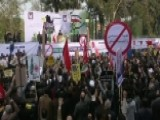 Iranians Rally Against US On Anniversary Of Hostage Crisis