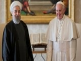 Iranian President Meets With Business Leaders, Pope In Italy