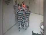 Inmates Break Free From Holding Cell To Help Officer